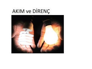 akim ve direnc