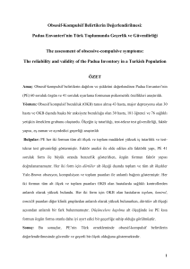 padua - Turkish Journal of Psychiatry