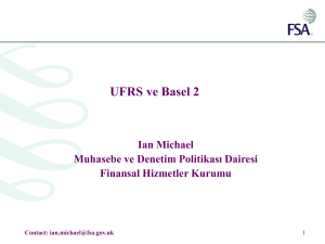 IFRS and Basel 2 - World Bank Group