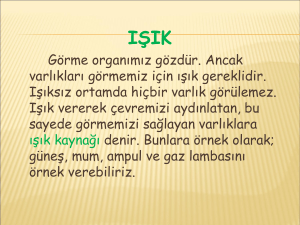 ses ve ışık - WordPress.com