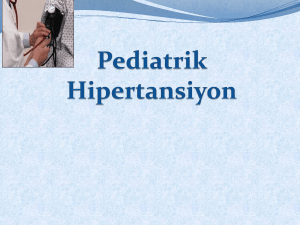 Pediatrik Hipertansiyon