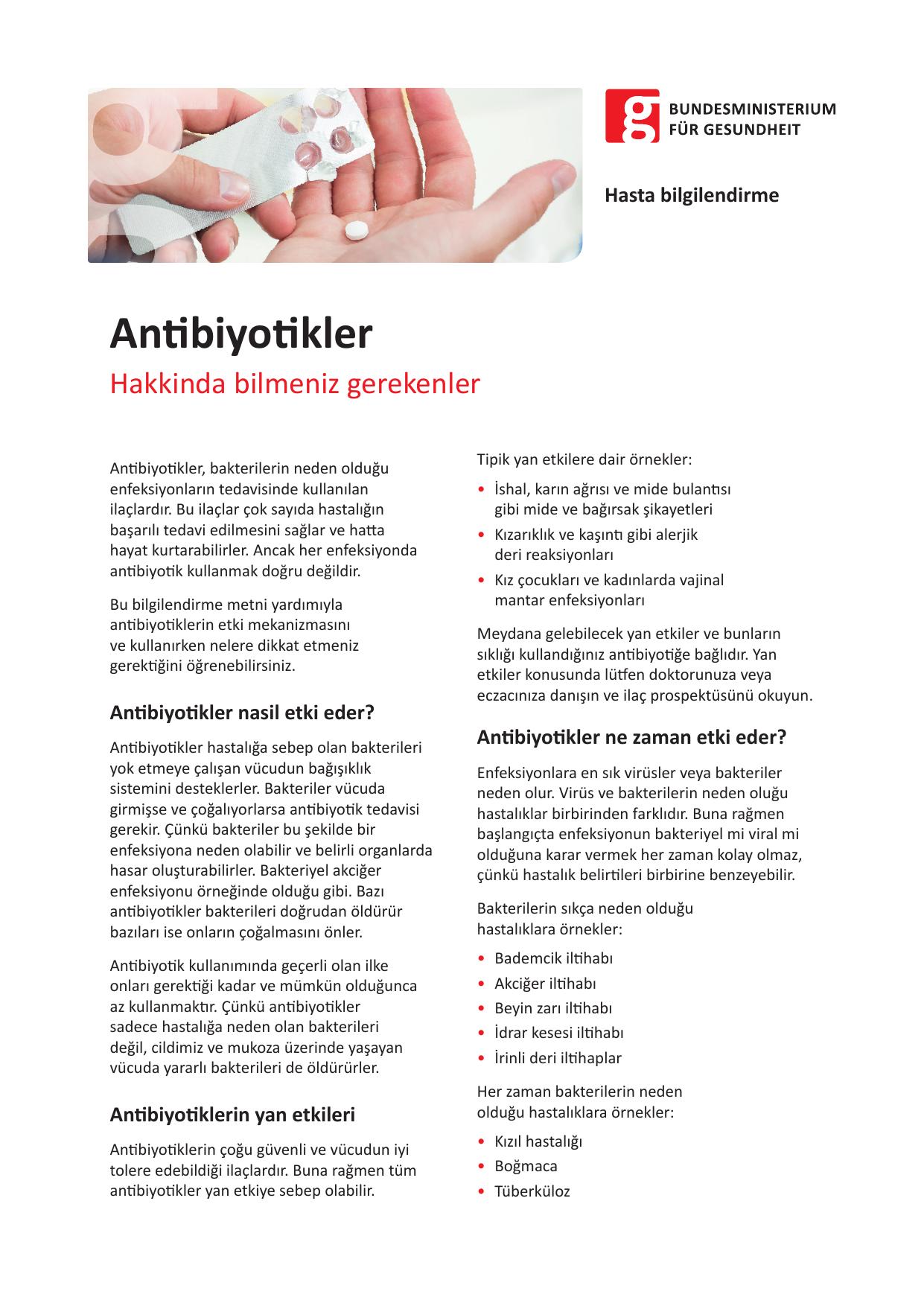 Antibiyotik neyden yapılır, Antibiyotik etkileri nelerdir