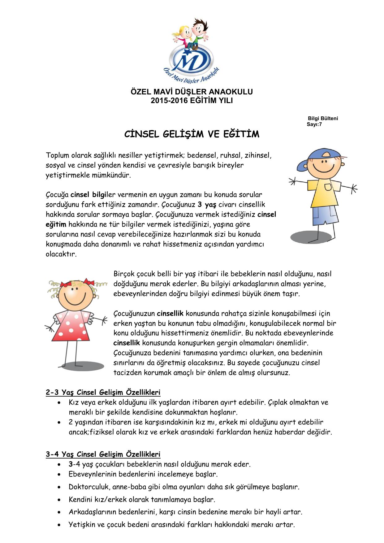 4 Yaş Çocuk Gelişimi Özellikleri