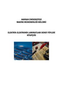 Elektrik ve Elektronik
