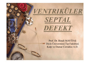 ventrıküler septal defekt
