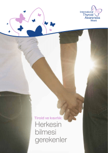 Herkesin bilmesi gerekenler - International Thyroid Awareness