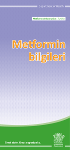 Gestational Diabetes - Metformin information