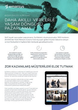 Case Study - Surfdome - Turkish.indd