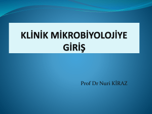1 Mikrobiyoloji
