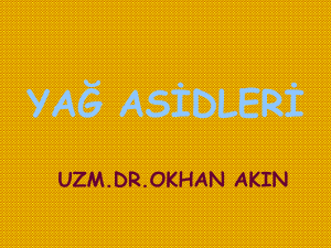 yağ asidleri - mustafaaltinisik.org.uk