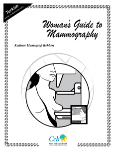 Woman`s Guide to Mammography