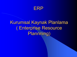 ERP revised