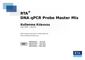 RTA DNA qPCR Probe Master Mix