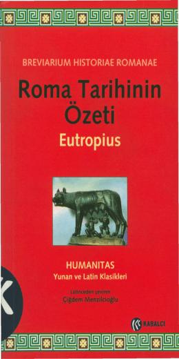 eutropius breviarium historiae romanae