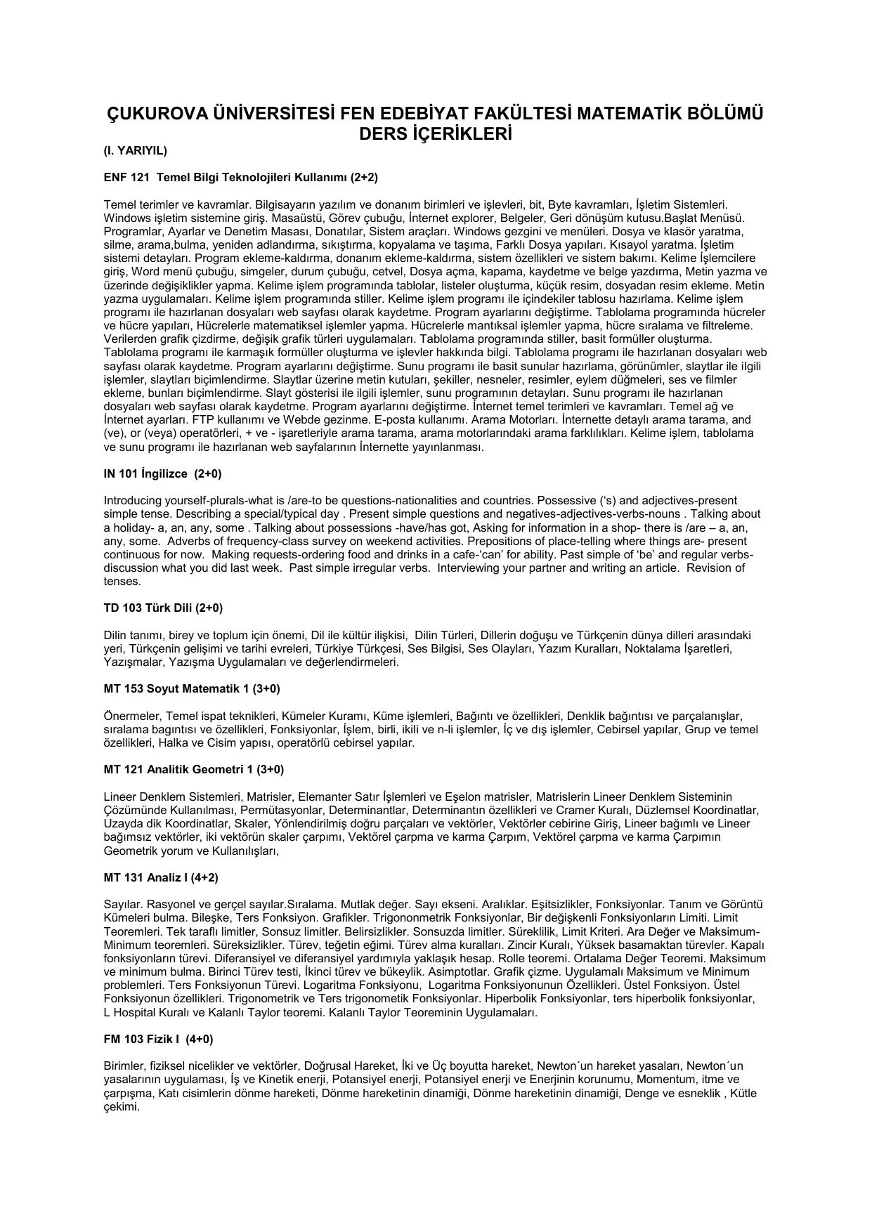 Temel bilgi teknolojileri türleri