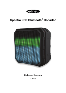 Spectro LED Bluetooth Hoparlör