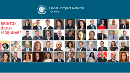 Untitled - Global Compact Türkiye