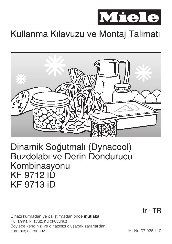 Buzdolabi Ve Derin Dondurucu Kombinasyonu Kf 9712 Id Kf 9