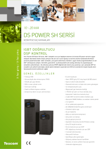 DS Power SH Serisi