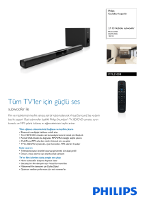 HTL2163B/12 Philips Soundbar hoparlör