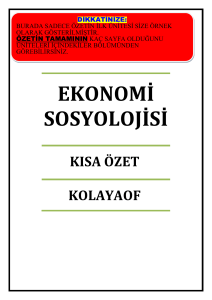 finansal tablolar analizi