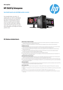PSG EMEA Commercial Workstation 2014 Datasheet