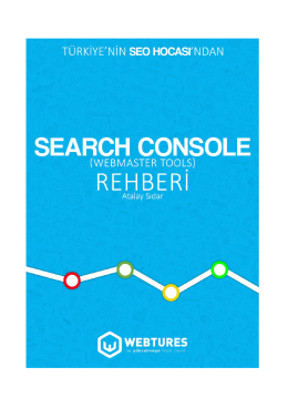 Webmaster Tools ( Search Console ) Rehberi