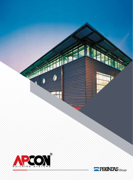 apcon katalog - APCON Building Systems