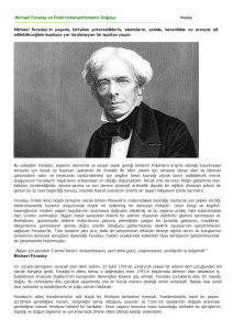 Michael Faraday ve Elekt...ikist