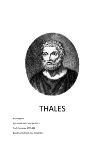 thales - WordPress.com