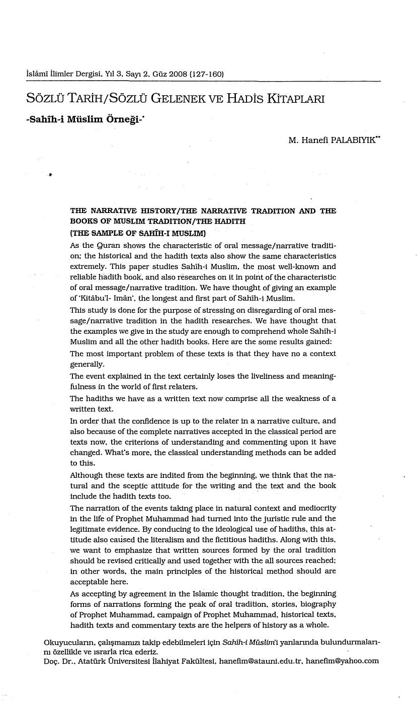 sahih hadis kitaplar pdf