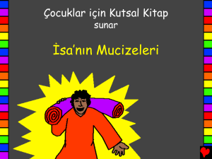The Miracles of Jesus Turkish PDA