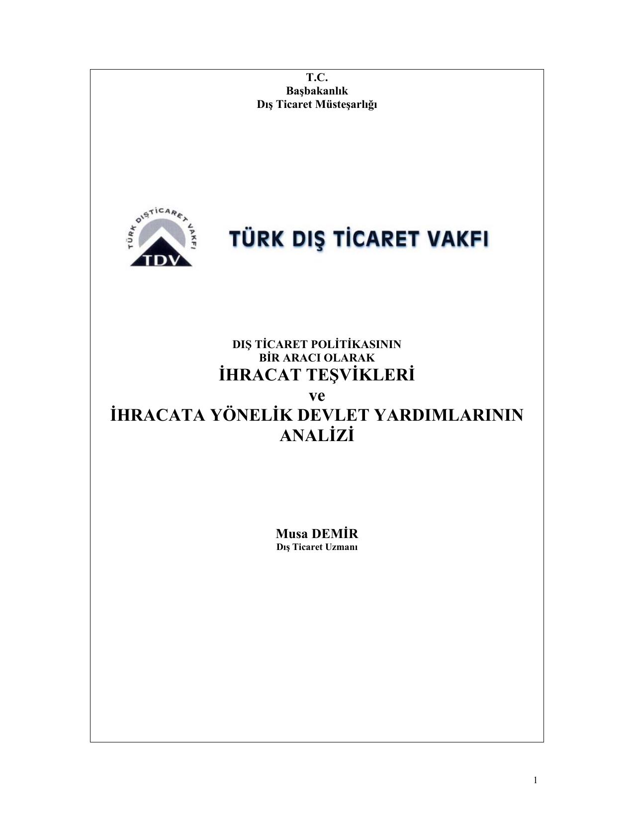 Dış ticarete yönelik çeşitlendirme stratejisi: dış kaynak kullanımı