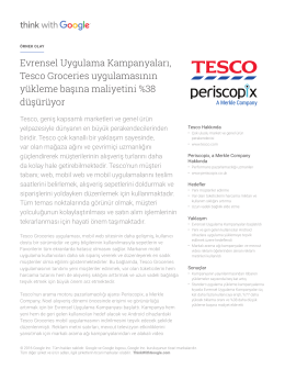 tesco case study Tesco logistics strategy this case study tesco logistics strategy and other 64,000+ term papers, college essay examples and free essays are available now on reviewessayscom.