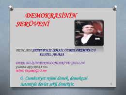 PowerPoint Sunusu - video.eba.gov.tr
