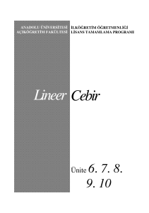 Cebir Lineer - Google Groups