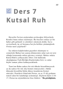 Kutsal Ruh - Global University