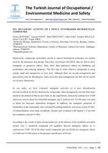 The Turkish Journal of Occupational / Environmental