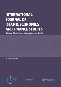 International Journal of Islamic Economics and Finance