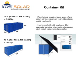 Container Kit