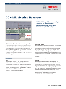 DCN‑MR Meeting Recorder