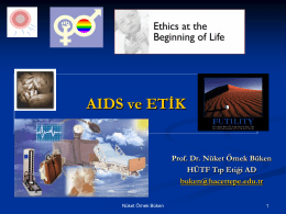 AIDS ve ETİK -